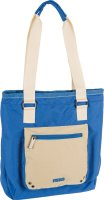 taška TOTE BAG blue-khaki