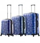 Sada cestovních kufrů MIA TORO M1089/3 - modrá