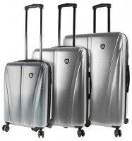 Sada cestovních kufrů MIA TORO M1238/3 - stříbrná