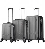 Sada cestovních kufrů MIA TORO M1301/3 - stříbrná
