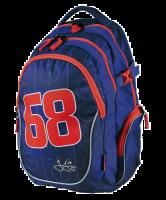 Studentský batoh Jágr 68 modrý