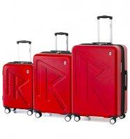 Sada cestovních kufrů Raido Numero Uno Red Mood…