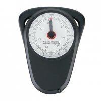 Retro analogová závěsná váha, Loooqs, černá