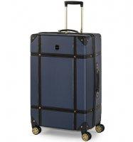 Cestovní kufr ROCK TR-0193/3-L ABS - modrá