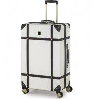 Cestovní kufr ROCK TR-0193/3-L ABS - krémová