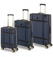 Sada cestovních kufrů ROCK TR-0193/3 ABS - modrá