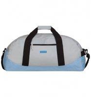 Cestovní taška ICE 7560 - světle šedá/modrá