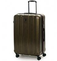 Cestovní kufr ROCK TR-0201/3-L PC - zlatá