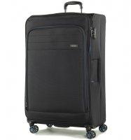 Cestovní kufr ROCK TR-0162/3-XL - černá