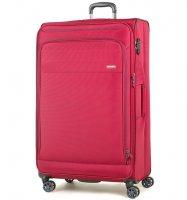 Cestovní kufr ROCK TR-0162/3-XL - červená