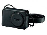 Nikon CS-CP4-7 kožené pouzdro pro Coolpix P340 Black