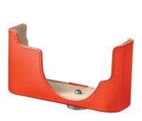 Nikon CB-N2000 kožené pouzdro pro Nikon 1 J1/J2 tělo, oranžová