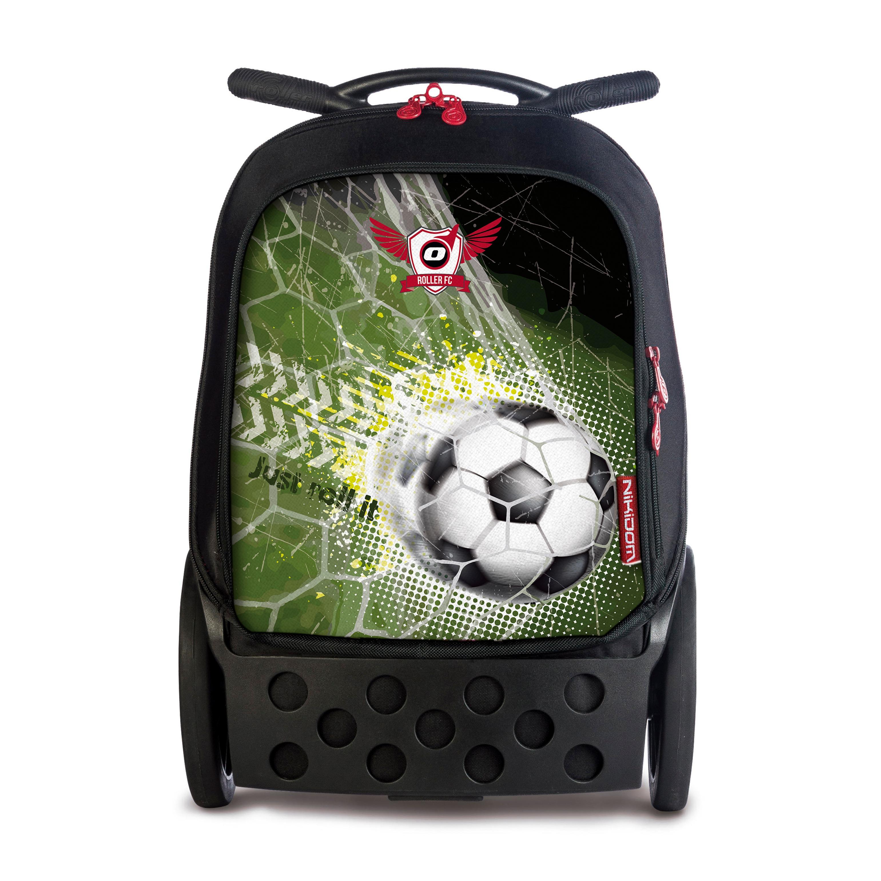 ed64a1c4c06 Školní taška na kolečkách Nikidom Roller XL Goal