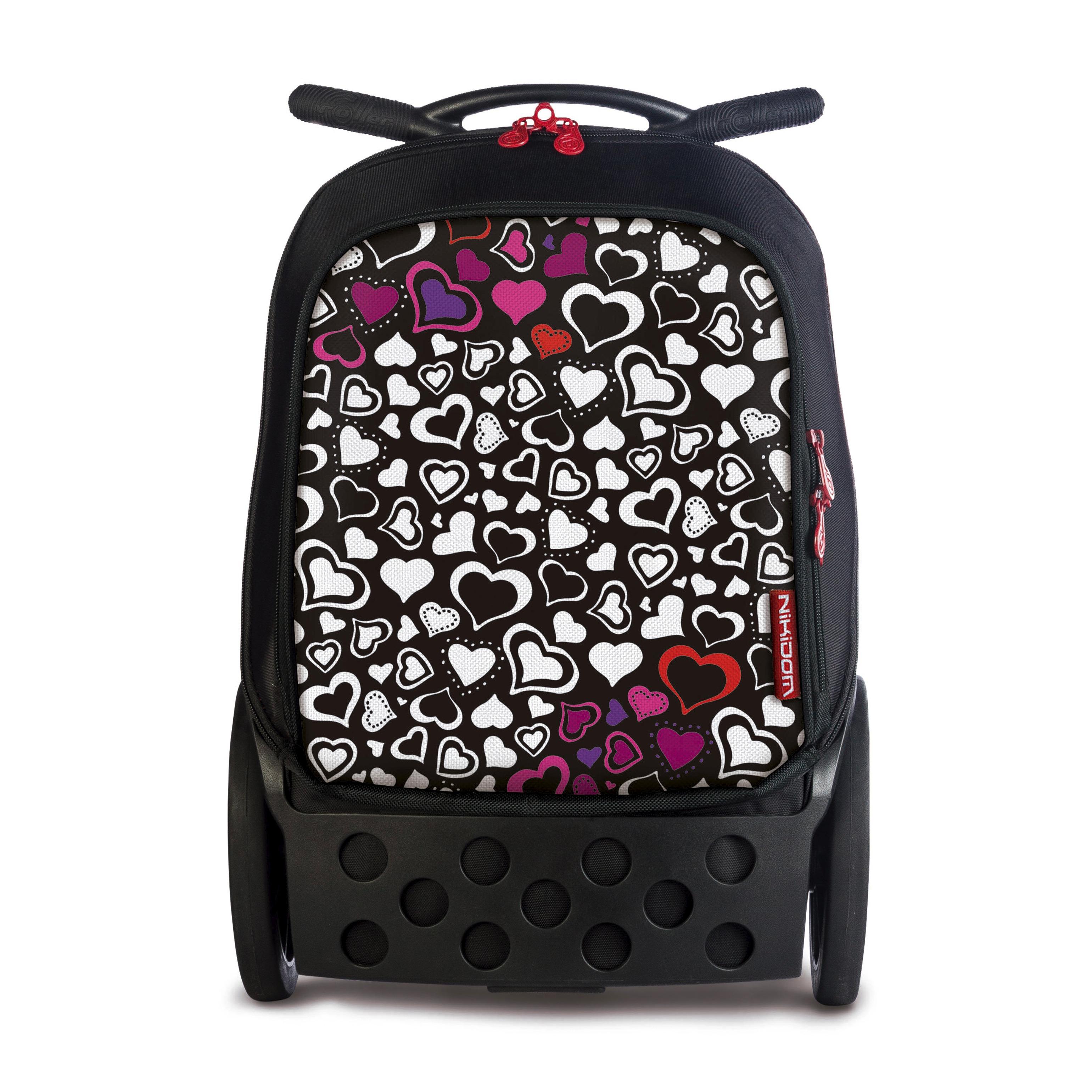 Školní taška na kolečkách Nikidom Roller XL Cuore  b3453816f2